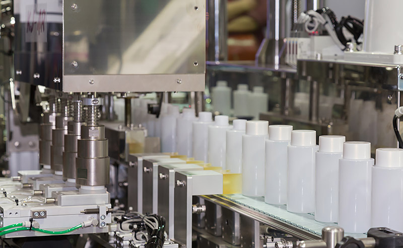 Lohnabfüllung Kosmetikindustrie, Reinigung, Desinfektion